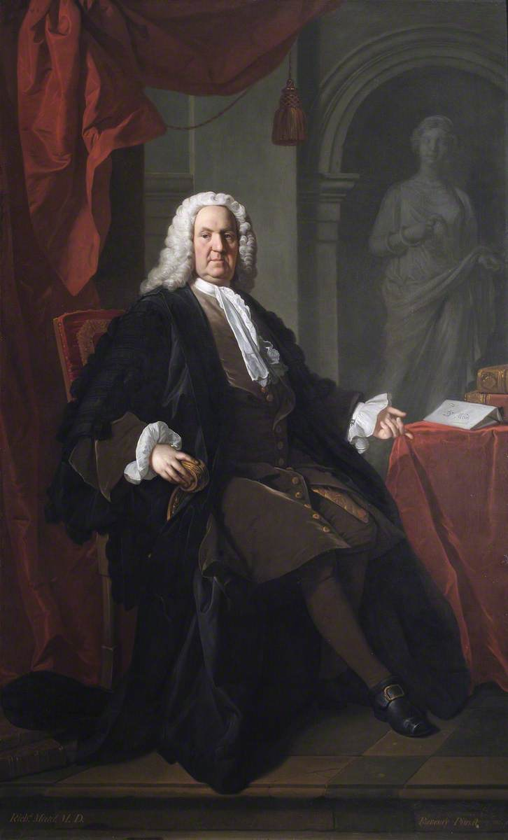 Ramsay, Allan, 1713-1784; Dr Richard Mead