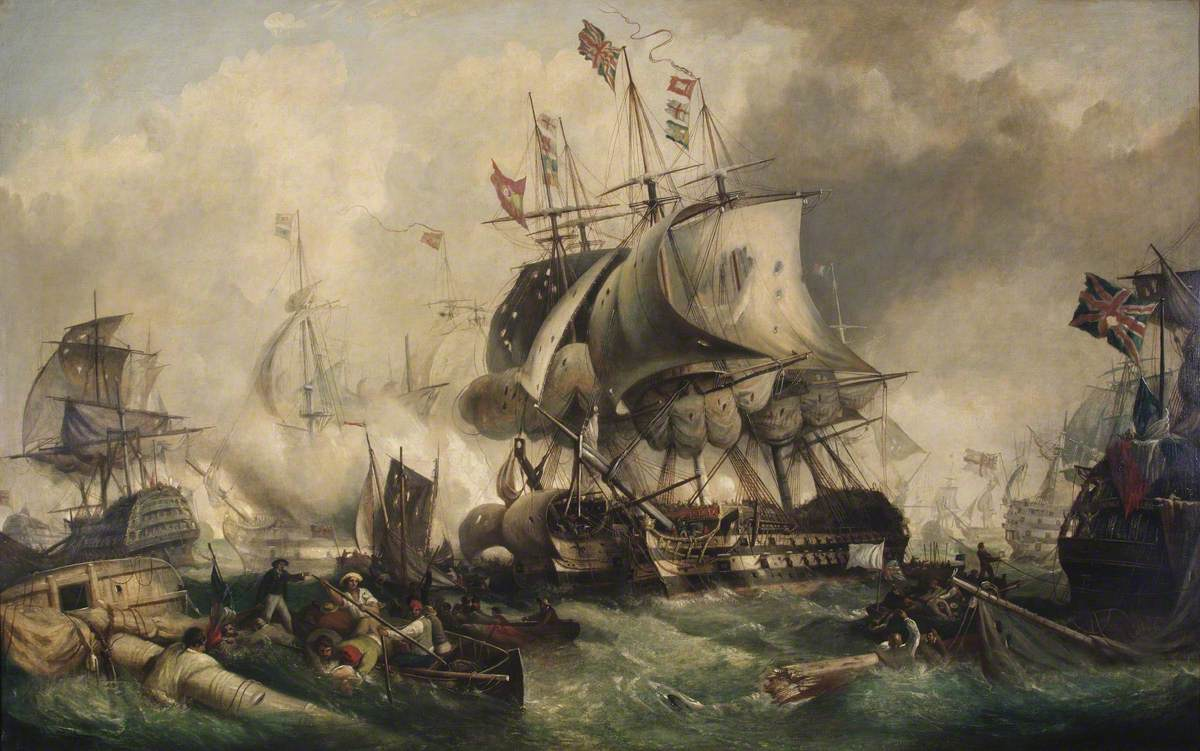 Stuart, William E. D., 1827-1858; The Battle of Trafalgar