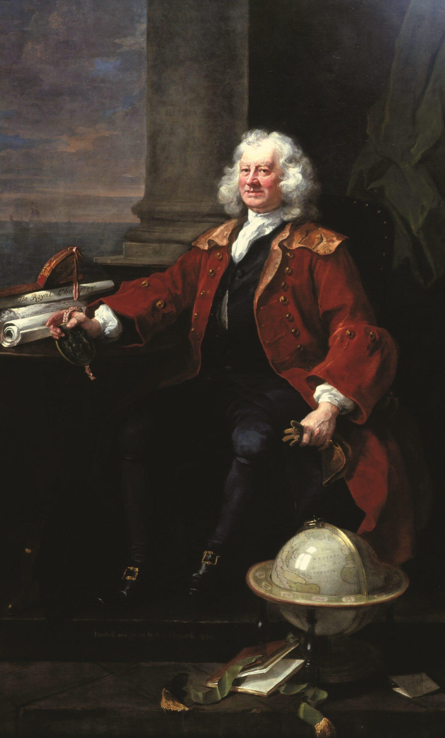 Portrait of Thomas Coram