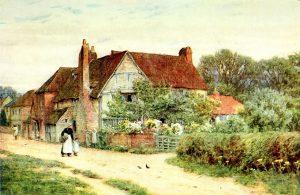 'Milton's Cottage, Chalfont St Giles'.